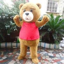 Плюшевый костюм для Взрослых меховой Мишка Mascotume стоимость, красивое платье для взрослых, Костюмы Хэллоуин вечерние Забавные Животные костюм медведя