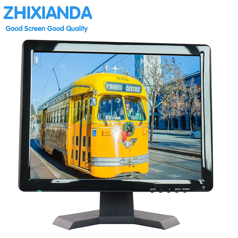 Factory Direct Selling Wholesale Price Square HD 15 Inch LED TV Monitor Cheap 15 inch Black TFT LCD Medical Monitor цена