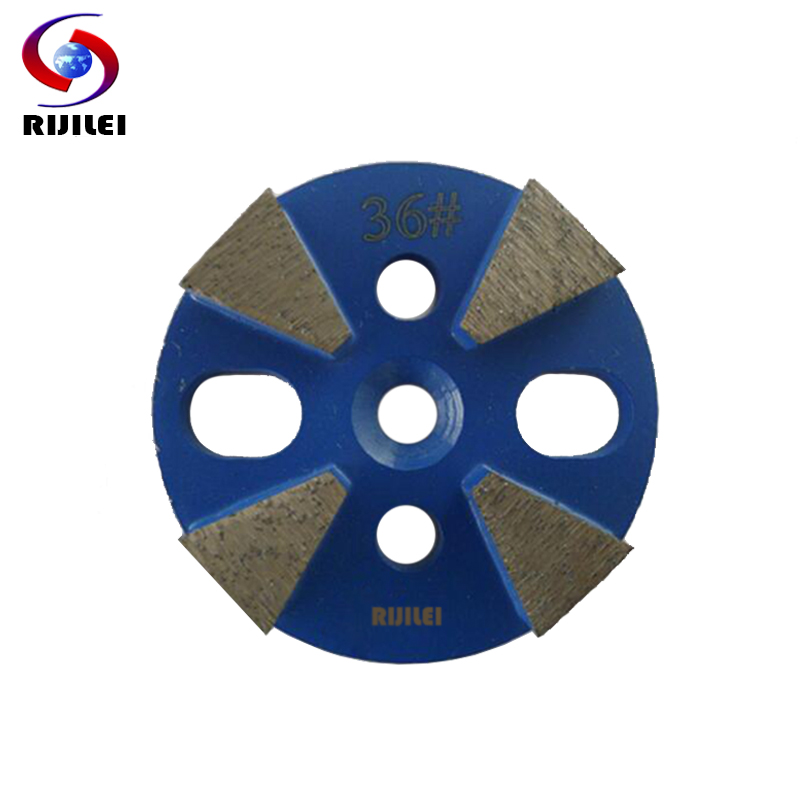 RIJILEI 3 PCS/lot Diamond Grinding Disc Cup Wheel Concrete Plates for floor U20