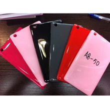 New Arrival Color Candy Soft TPU Silicon Rubber Back Shell Cover Case For Lenovo Tab 2 A8-50 A8-50F A8-50LC A8 50 8″Tablet