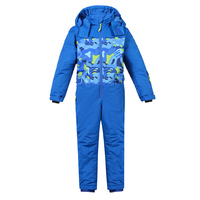 Winter Jumpsuit Children Windproof Ski Suits For Girls Kids Boy Clothing Set Outerwear Thicken Sporty Snow
