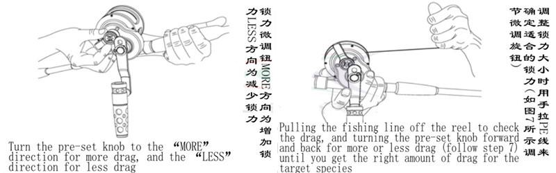 lento jig carretel de pesca de água salgada barco carretel 4.9: 1