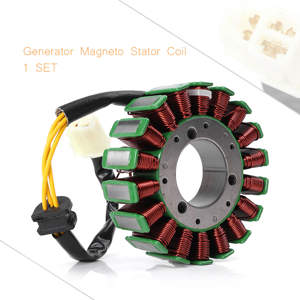 For SUZUKI GSXR 600 750 GSXR600 GSXR750 Magneto Motor Coil Engine Stator Charging Generator Assy 2001-2005 K4 Motorcycle Parts for suzuki gsxr600 gsxr750 gsxr 600 750 k4 tank side cover panels fairing 2004 2005 2pcs carbon fiber motorcycle parts