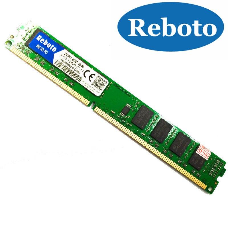 Reboto Brand New Sealed 1066 1333 1600mhz PC3 10600 Desktop RAM Memory