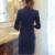 Mantón de Cuello de Dos Piezas de Damas Pantalón Traje Formal Para La Boda Diseños De Uniformes de Oficina Mujer Trajes de Negocios Chaqueta de Color Rojo Para El trabajo