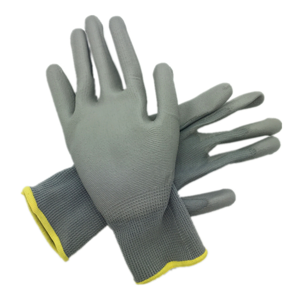 Image 3 - DEWbest gloves new store factory direct work gloves PU material safety protection gloves 12pairs / lot European standard 001-in Safety Gloves from Security & Protection
