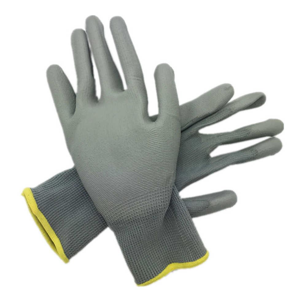 DEWbest قفازات متجر جديد المصنع مباشرة قفازات العمل بولي material سلامة المواد قفازات حماية 12 زوج/وحدة المعايير الأوروبية 001