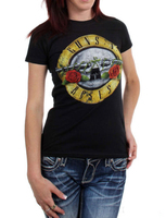 GUNS N ROSES T Shirt Girls Guns Sexy Ladies Slogan Printed Short Sleeve Casual Tee US