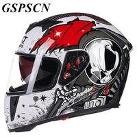 GSPSCN NEW Genuine High Quality Full UP Helmets Motorcycle Winter Helmet Motorbike Helmets Casco Capacete Casque