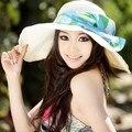 Большой большой-краев кепка анти-уф sunbonnet пляж на открытом воздухе солнцезащитный крем для загара шляпа большой шляпа