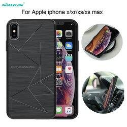 Dla iphone xs max/iphone xr Nillkin Magic Case dla iphone 8/8 Plus Qi bezprzewodowy odbiornik ładowarki pokrywa moc nadajnik ładujący|case for iphone|case forfor iphone -