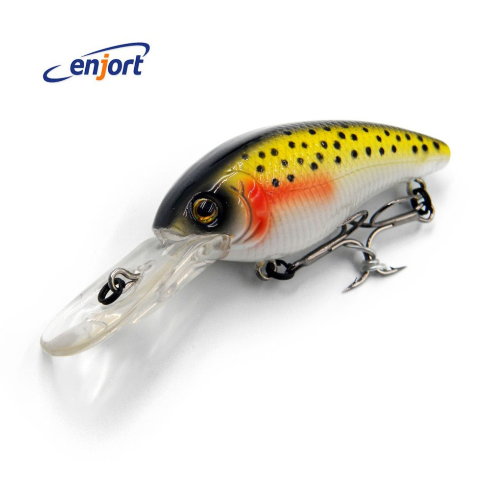 Enjort Fishing Lure 8.5CM-11G pesca crankbait hard Bait tackle jerk bait artificial lures swimbait fish wobbler Free shipping 5pcs lot fishing lure lures 5 5cm 8g pesca hook fishing wobbler hard bait crankbait ackle artificial bait carp fishing accessory