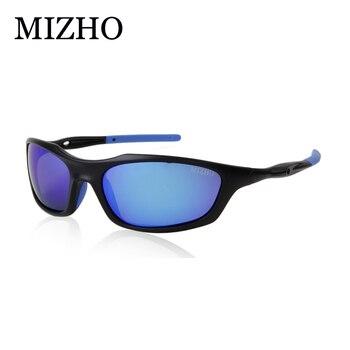 MIZHO брендовые антибликовые мужские солнцезащитные очки для вождения поляризованные зеркальные модные маленькие оправы мужские очки женск... >> MIZHO Official Store