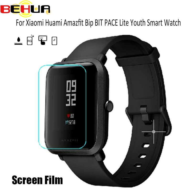 2pcs For Amazfit Bit Ultra Thin Antiexplosion TPU Screen Protector Film For Xiaomi Huami Amazfit Bip PACE Lite Youth Smart Watch 3in1 metal strap double color band for original xiaomi huami amazfit bip bit pace lite youth smart watch screen protector film