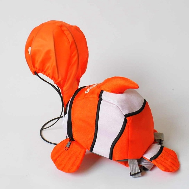 cute Kid Keeper Baby Safety Harness Toddler Child Harnesses Reins Backpack Straps Clownfish bee duck Bag in Anti - lost Walking