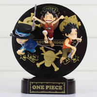 One Piece Anime Action 3D Relief Cool Design One Piece PVC Action Figure