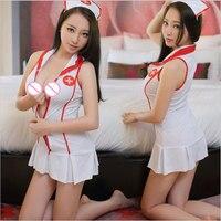 Women Sexy Lingerie Hot Nurse Uniform Temptation Porn Erotic Lingerie Cosplay Role Play Naughty Nurse Sexy Costumes