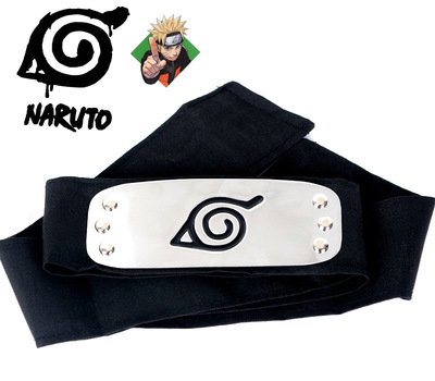 1pc Naruto Kakashi Headband Cosplay Costumes Accessories Toys Figure Model Toy 24 Styles (can Choose)