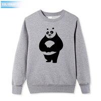 Men S Winter Cotton Sweatshirts Panda Cartoon Funny Printing Dresses For Men Casual Top O Neck