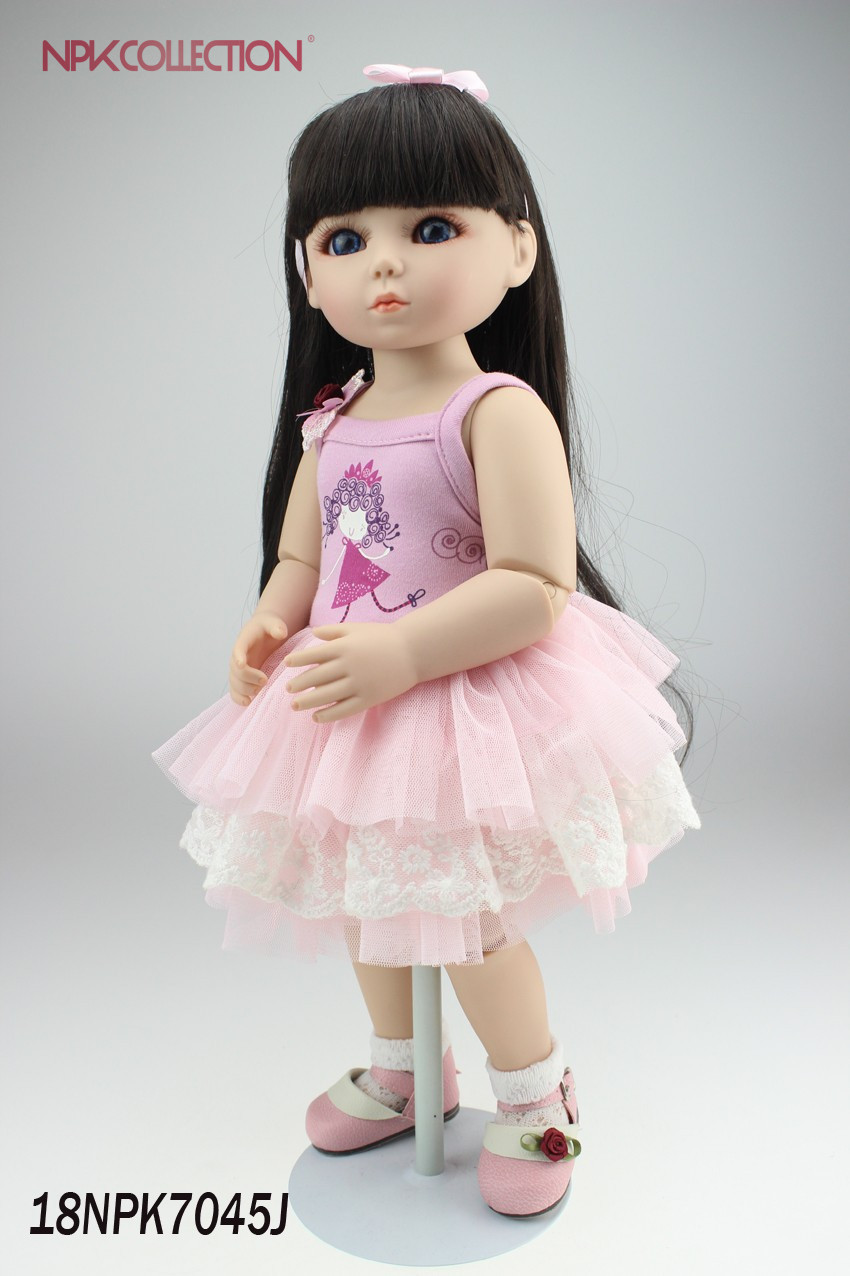NPKCOLLECTION High quality Vinyl doll for kids SD doll handmade very beautiful doll beautiful darkness