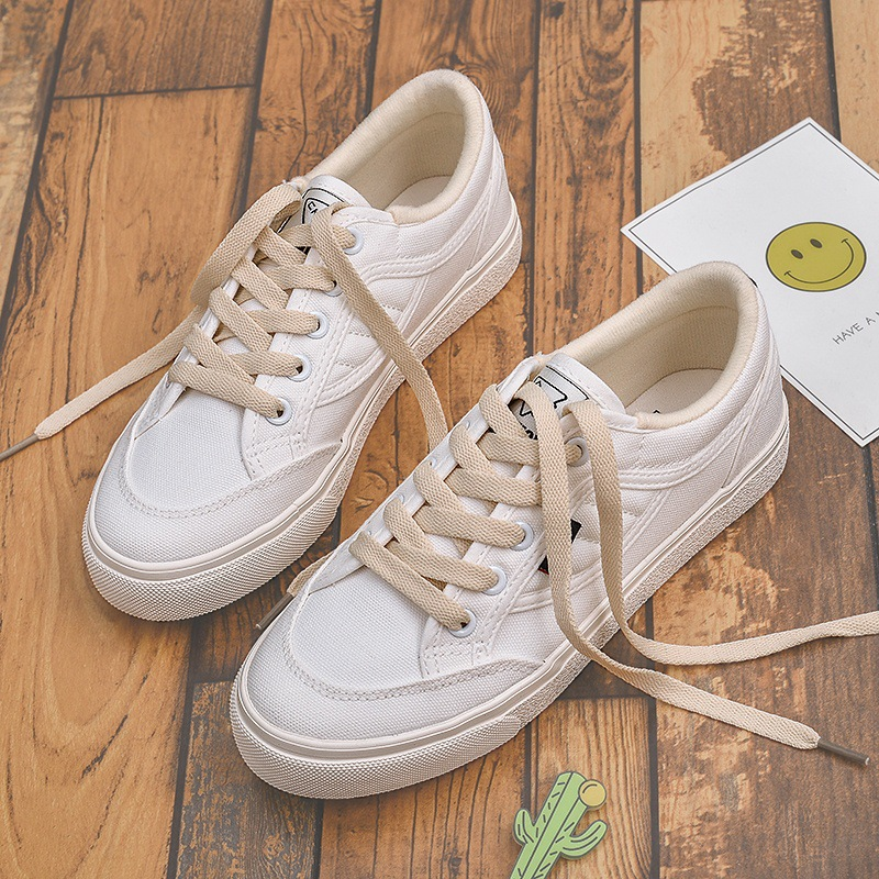 2018 spring new shoes white shoes female wild Korean students canvas shoes 22