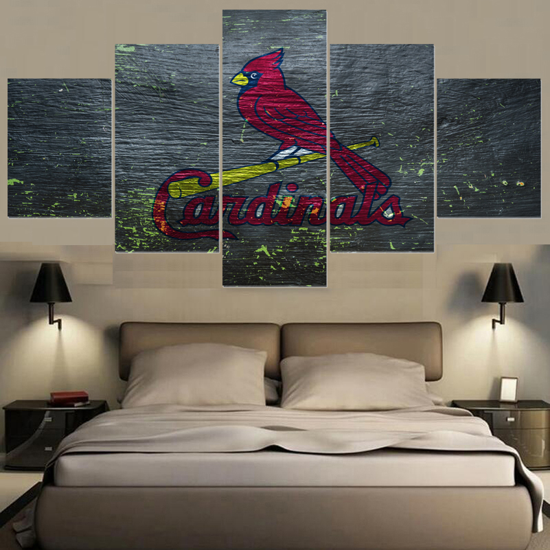 Bon Animal Prints Sport St. Louis Cardinals Logo Paintings Wall Art Home Decor  Picture Canvas Painting Calligraphy For Living Room  In Painting U0026  Calligraphy ...