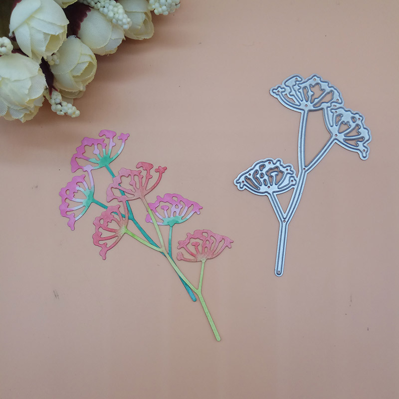 Carnation Flower Dandelion 2018 New Cutting Dies Scrapbooking Dies Metal Embossing Stamps And Die For Card Making DIY