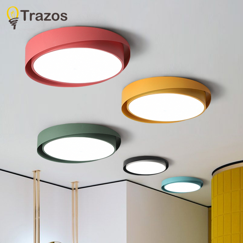 Modern Ceiling Lights Outdoor Waterproof Ceiling Lamp LED Lighting Aluminum Light body Ceiling Lamps Terrace LED Light Fixture
