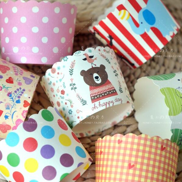 Factory Wholesale 1000pcs/lot Disposable Paper Cupcake ...