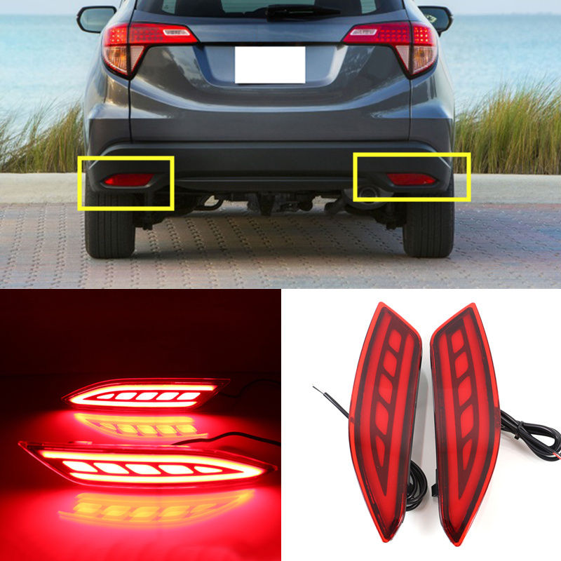 Light guide Rear fog lamp Safety Signal Warning Lamp For Hyundai HR-V 2015-2016Light guide Rear fog lamp Safety Signal Warning Lamp For Hyundai HR-V 2015-2016
