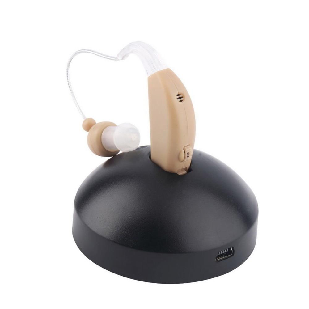 Axon Rechargeable Acousticon Behind The Ear Hearing Aid/Aids Audiphone Sound Amplifier rechargeable acousticon in ear hearing aid aids audiphone sound amplif eu plug y207e hot sale