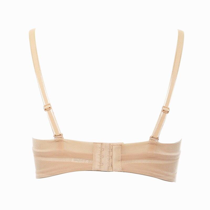 7dfbe377e7 Aimer Fashion Ultra thin Stripe Cami Bra Women s Underwear Push up Lingerie  Pure Cotton Brassiere AM15Y31-in Bras from Underwear   Sleepwears on ...