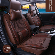 News 2017 for The Car Universal Car Seat Cover with Pillows Lumbar Supports Covers for Car