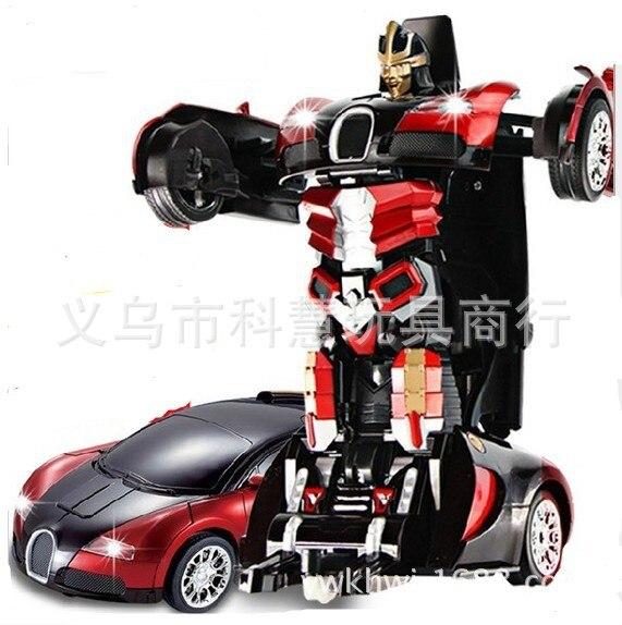 kortingsbon retro prachtige stijl US $50.31 10% OFF|Echte Authentieke Jiaqi TT663 Drift Ares vervorming van  RC bestuurbare Bugatti Remote Robots kinderen Kerstcadeau-in RC Auto´s van  ...