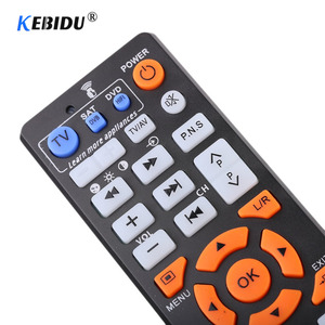 Image 4 - Kebidu Universal Smart IR Remote Control With Learn Function Replacement Remote Controller copy for TV STB DVD SAT DVB TV BOX