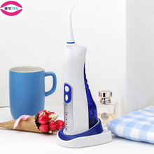 YASI V17 USB Base Rechargeable Oral Irrigator Gum Dental Water Jet Flosser Teeth Flossing Blue Portable Outdoor Cleaning Tool