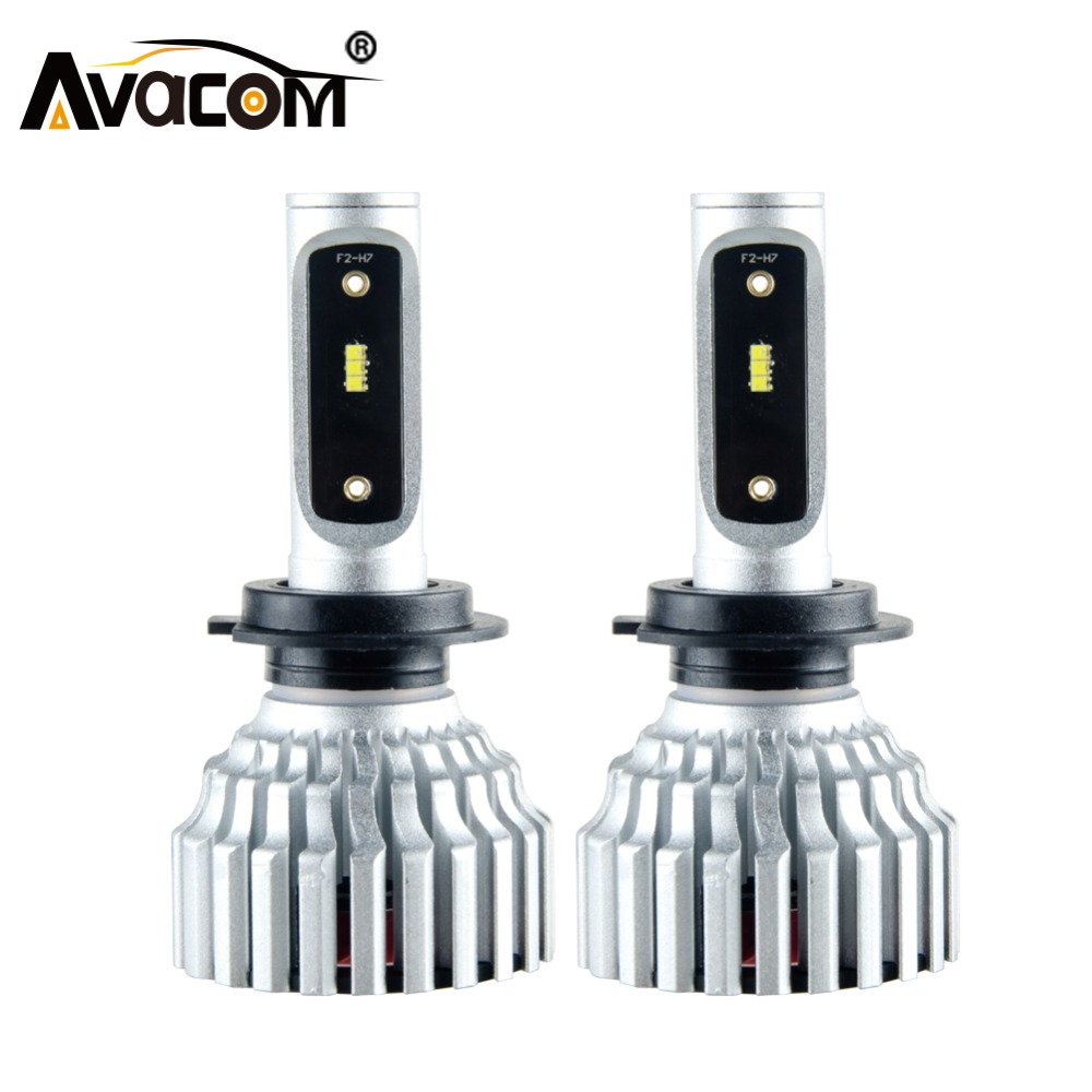 Avacom H7 H4 LED Mini Auto Scheinwerfer Birne 16000Lm ZES H11/H8/H9 9005/HB3 9006/ HB4 9012/Hir2 12 v 24 v LED Voiture Auto Lampe