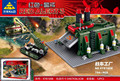 794 UNIDS KaZi 81008 Red Alert 3 guerra fábrica pequeñas partículas ensambladas bloques de construcción de juguete