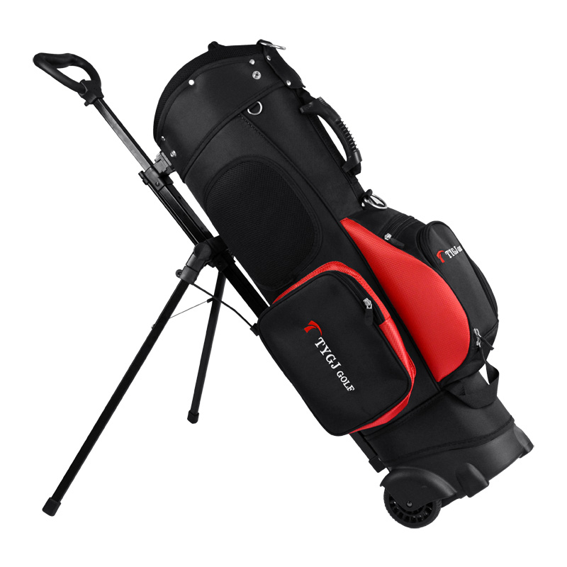 цена на Brand TTYGJ Golf Travel Wheels Standard Stand Caddy golf cart bag staff golf Bag Complete Golf Set Standard Ball Travel Trolley