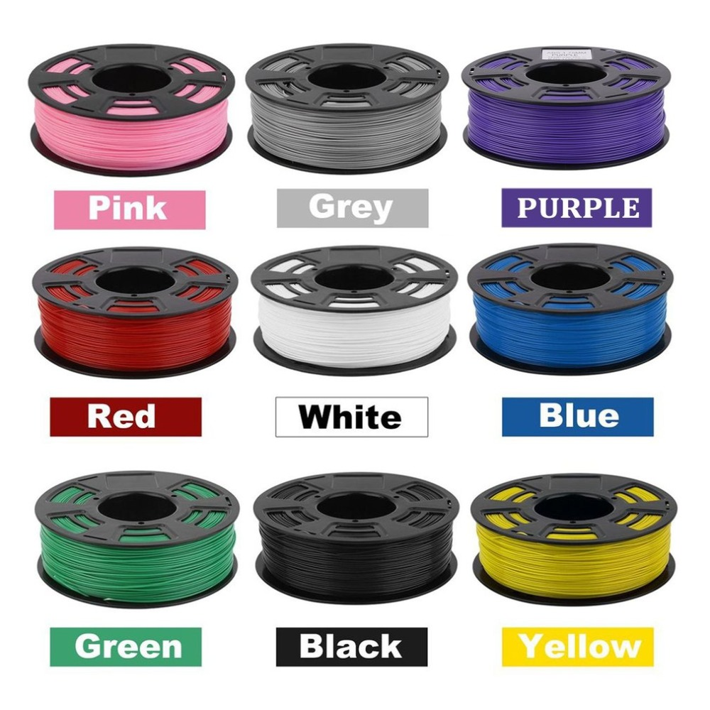 One Roll 420M 1KG 1.75mm ABS Filament 3D Printer Printing Material Supplies Printing Filament For 3D Printing Pen 3D Printer hot sale 3d printer filament printing pla material pen craft supplies 3mm 1kg