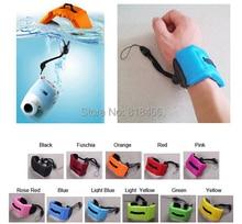10pcs Floating Foam Hand Strap Camera submersible Floating bobber hand wrist strap for pro HERO5 4 3 3+ sj4000 sport action