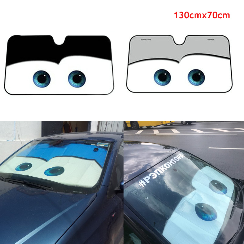 Car Windshield Cover Windscreen Sun Block Shade Visor Protector Ribbon Large UK