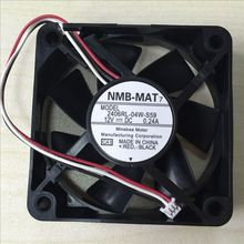 NEW NMB-MAT Minebea 2406RL-04W-S59 6CM 6015 12V 0.24A Projector 3PIN cooling fan