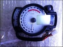white panel  Backlight LCD Digital Motorcycle Speedometer Odometer Motor Bike Tachometer Koso Similar max speed 299KM