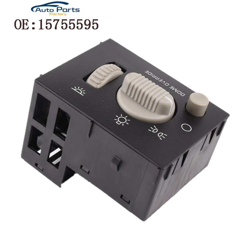 Headlight Headlamp Switch Fits For 1999 2002 Chevy GMC Tahoe Yukon 15755595|Car Switches & Relays|Automobiles & Motorcycles - title=