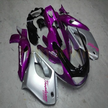 Custom motorcycle fairing for YZF1000R 1997 2007 Thundercat 97-07+Screws silver pink