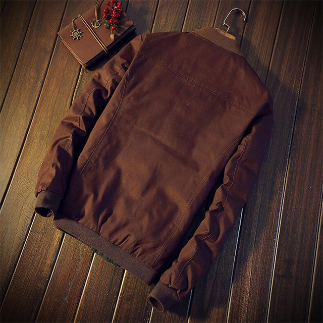 Autumn Korean men's jacket new Cultivate one's morality short paragraph color matching collar jacket male baseball uniform M-5XL