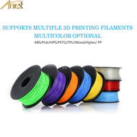 1 Carton Anet PLA Filament 3D Printer Filament 1kg/Roll 2.2lb 1.75mm for MakerBot Anet RepRap 3D Printer Pen 10 Colors Optional