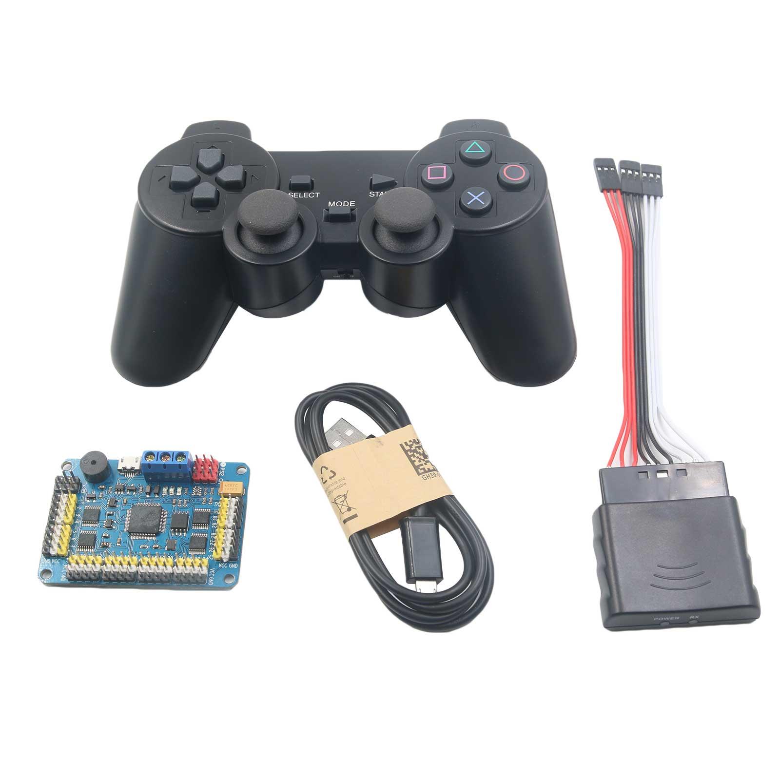 ФОТО 32 Channel Servo Control Board & Robot PS2 Controller & Receiver Handle for Arduino Robot DIY Platform