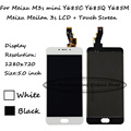 Black/White 5 inch For Meizu M3s mini Y685C Y685Q Y685M Y685H / Meizu Meilan 3s LCD Display + Touch Screen Digitizer Assembly